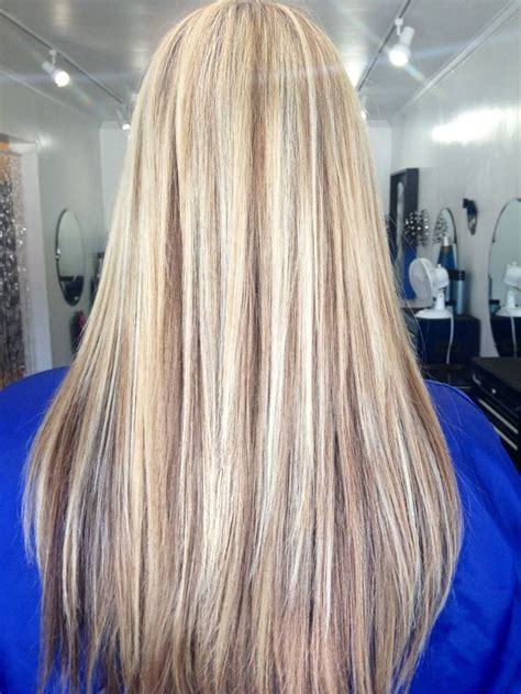 Long Blonde Hair With Dark Low Lights | 96 best images about blonde hair 3 on pinterest chunky