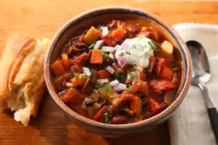 basic vegetarian chili recipe chowhound