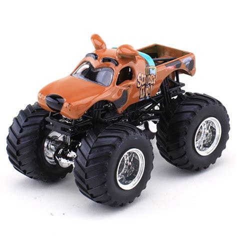 scooby doo jam truck wheels scooby doo die cast truck jam figure