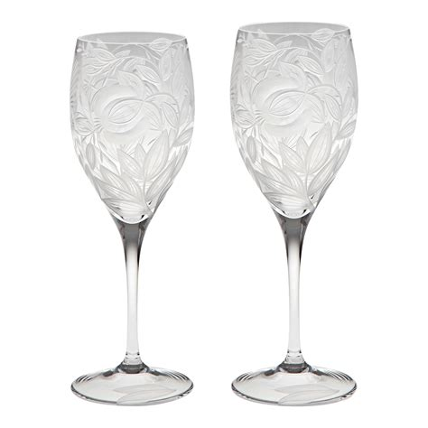 beautiful wine glasses crystal white wine glass beautiful crystal selissa