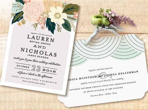 Wedding Invitation Designs For 2015 by 500 Giveaway Introducing Minted S 2015 Wedding
