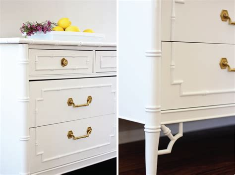 faux bamboo dresser painted natty by design faux bamboo dresser
