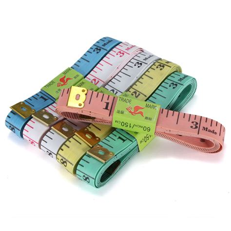 printable fabric measuring tape fabric body sewing tailor soft flat measure measuring tape