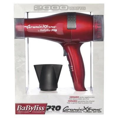 Babyliss Hair Dryer At Target babyliss 174 pro ceramix xtreme 174 professional turbo dryer target