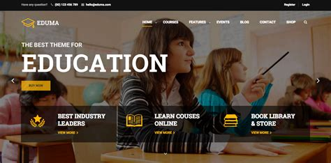 themes on education top 6 responsive education academic wordpress themes in 2016