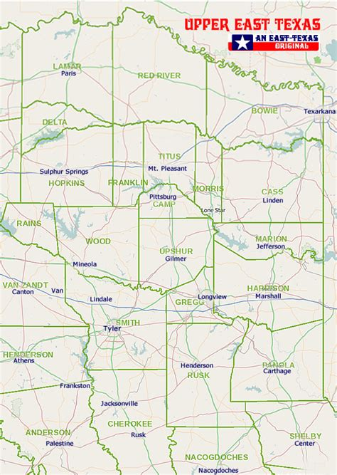 maps of east texas county map of east texas cakeandbloom