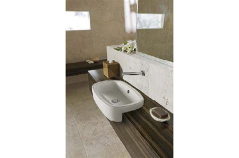 gwa bathrooms and kitchens regent inset semi recessed basin from gwa bathrooms and