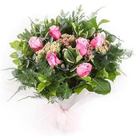 Gift Letter Ellie Mae Six Stemmed Pink Roses Ellie Mae Florists Benfleet