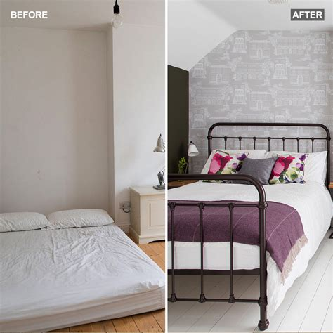 split bedroom ideas before and after see how this attic bedroom went from