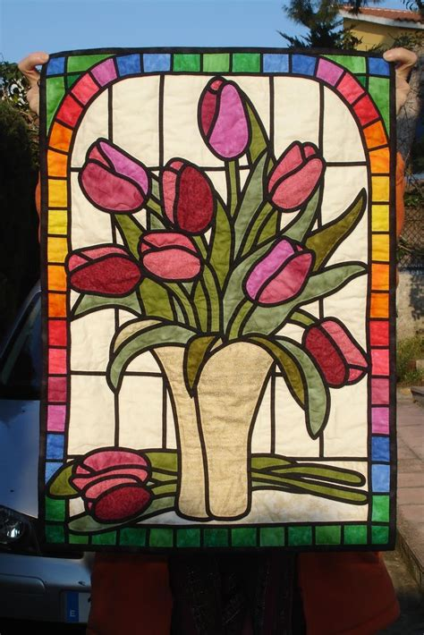 Stained Glass Patchwork - 1000 images about vidrieras de patch on