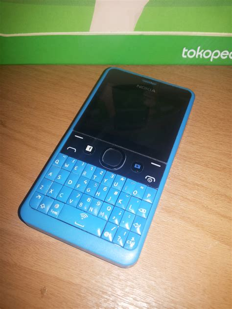 Hp Nokia X Dual Sim Second jual handphone nokia asha 210 dual sim hp qwerty second seken bekas miftah cellular phone