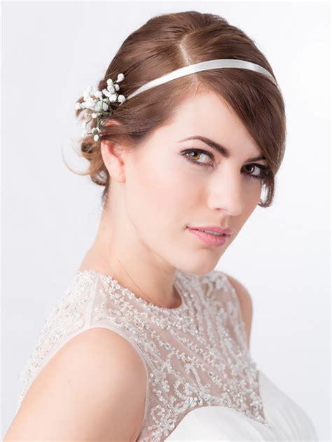 Hochzeitsfrisur Volumen by Ideen Brautfrisur F 252 R Kurze Haare