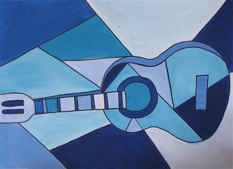 pablo picasso paintings guitar picasso blue guitar forecastingirl