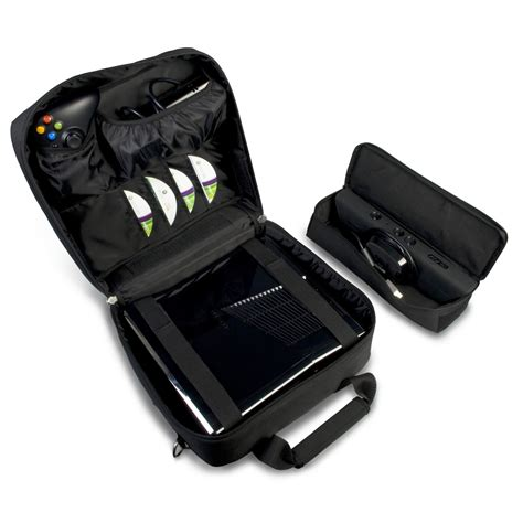 Tas Ps4 Travel Bag xbox 360 travel with space for kinect controllers