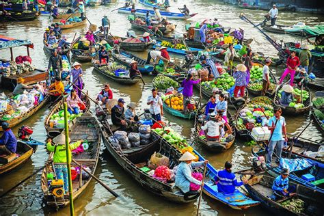 floating boat market floating market the outstanding mekong culture
