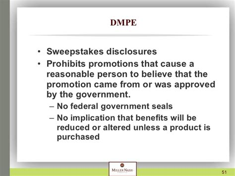 Federal Sweepstakes Laws - presentation on sweepstakes and contests