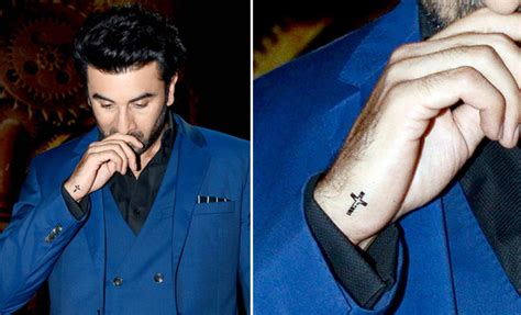 tattoo on ranbir kapoor s hand celebs who got inked for their roles