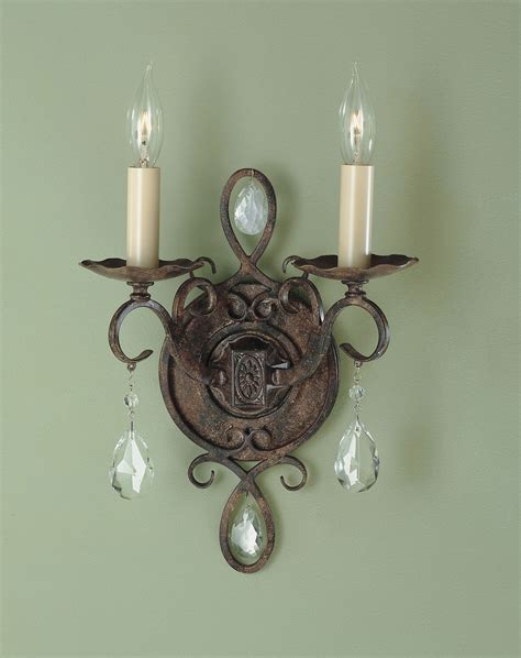 Murray Feiss Wall Sconce Murray Feiss Wb1227mbz Chateau Wall Sconce