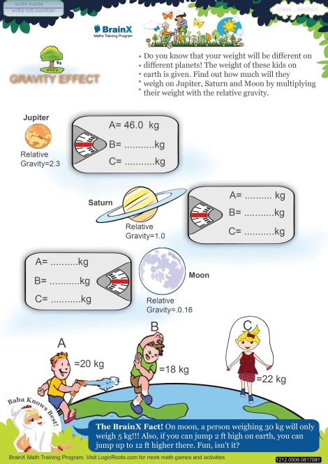 theme definition easy gravity worksheets for kids geersc