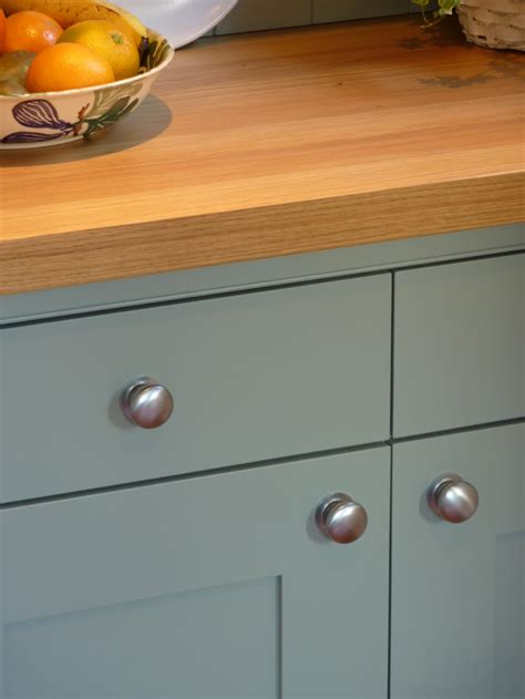 Storage Ideas For Kitchen Cupboards Blue Grey Painted Kitchen By Peter Henderson Furniture