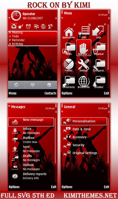 Nokia Themes Rock | nokia 5800 themes download for free daily mobile