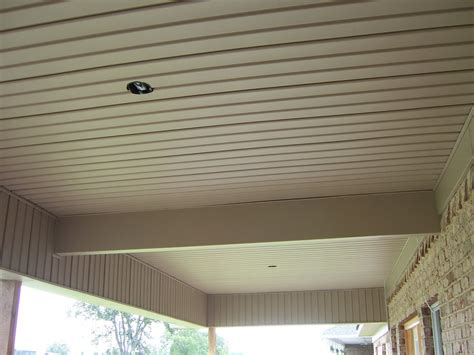 Exterior Ceiling Board by Sophisticated Vinyl Ceiling Panels