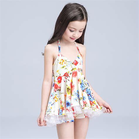 aliexpress models aliexpress com buy girls floral swimsuit 2016 children s