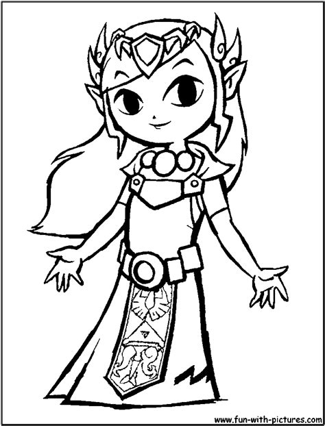 zelda coloring pages printable zelda coloring pages free large images