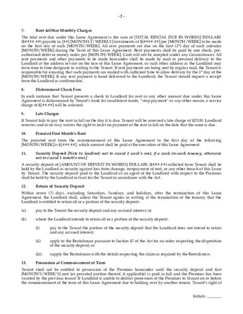 saskatchewan rental agreement template residential lease agreement saskatchewan free