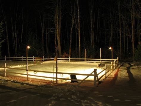 backyard rink lighting core hockey training blog how to build a backyard hockey rink
