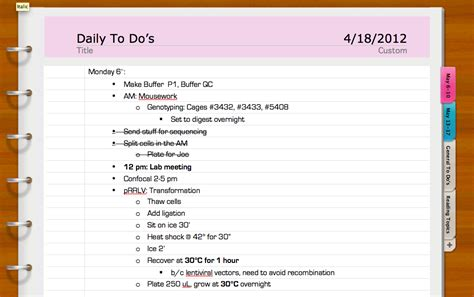 notebook layout word for windows grad school help the science exchange blog