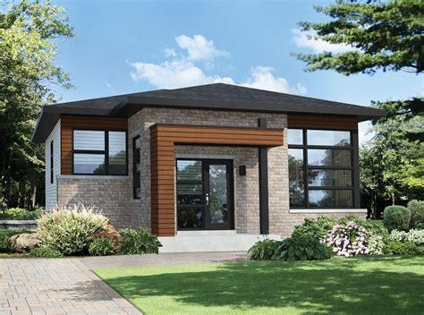 modern 2 house plans two bedroom modern house plan 80792pm 1st floor master