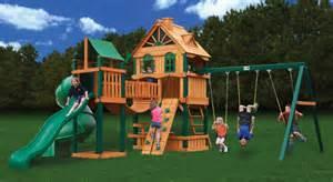 Wooden Playground Sets Woodbridge Wooden Swing Set