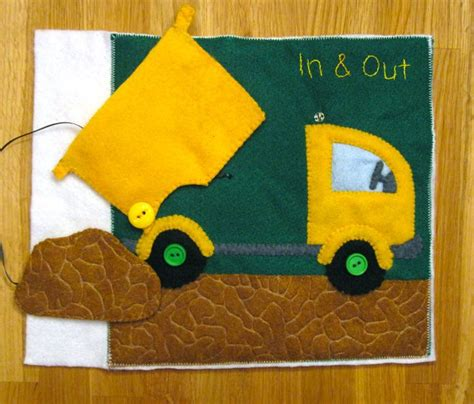 patterns for quiet book pages quiet book patterns and ideas dump truck quiet book page