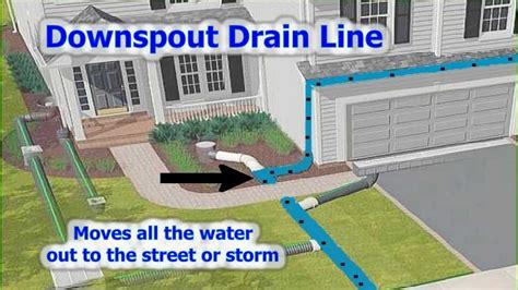 rainwater drainage system youtube