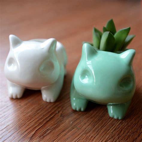 cute pots for plants pokemon go bulbasaur home decor ceramic art flower pot plant pot planter cute ebay