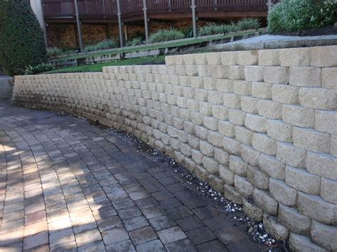 Retaining Wall Blocks Australian Retaining Walls Concrete Block