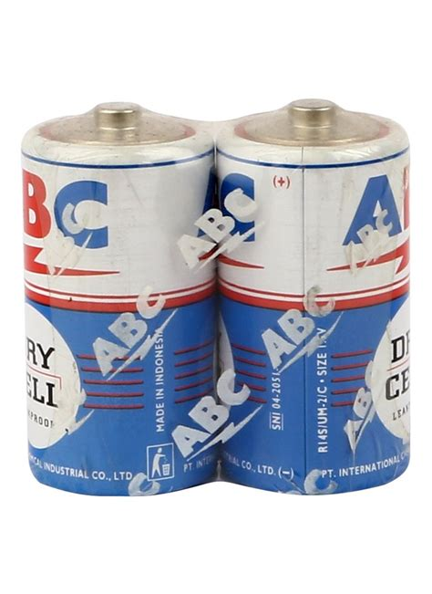 Baterai Besar Abc abc battery biru r20 2 s besar pck klikindomaret