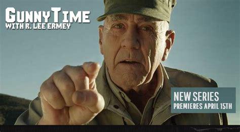 new r ermey gunnytime tv show premieres april 15th