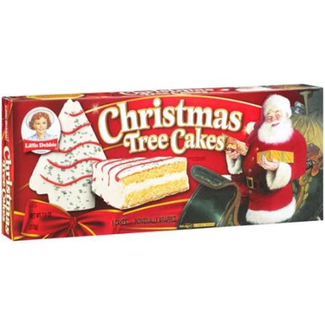 little debbie snacks christmas tree cakes 5ct walmart com