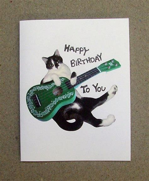 Ukulele Birthday Card 17 Best Images About Birthday Cards On Pinterest Cats