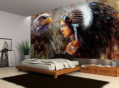 wallpaper for wall decor in india vintage native american decor great bargains native