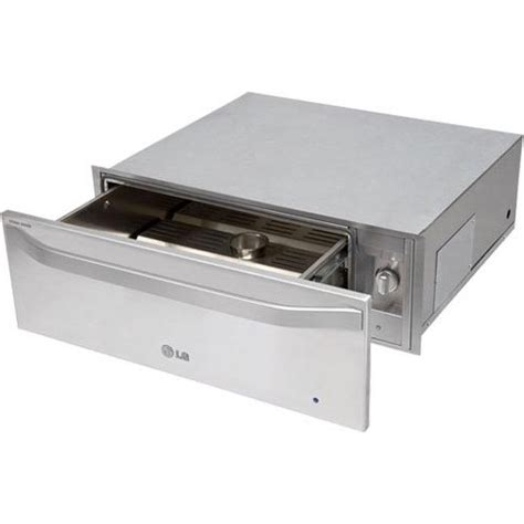 Warming Drawer Temperature by Lg Lswr300st 30 Quot Warming Drawer With 1 6 Cu Ft Capacity