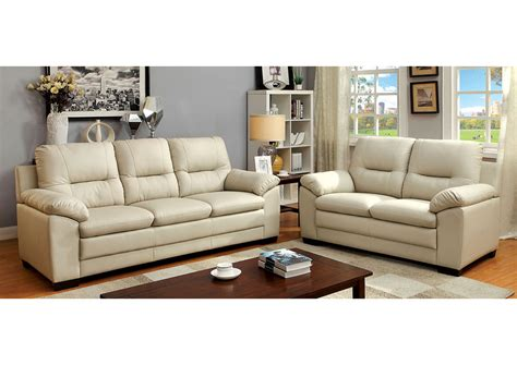 your cost furniture parma ivory polyurethane sofa