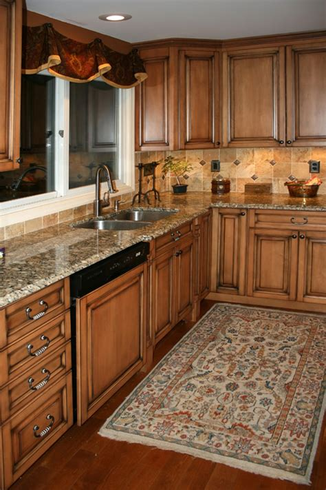 kitchen color ideas with maple cabinets cream colored kitchen cabinets brick backsplashes for