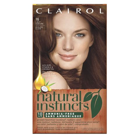 clairol color clairol instincts hair dye review