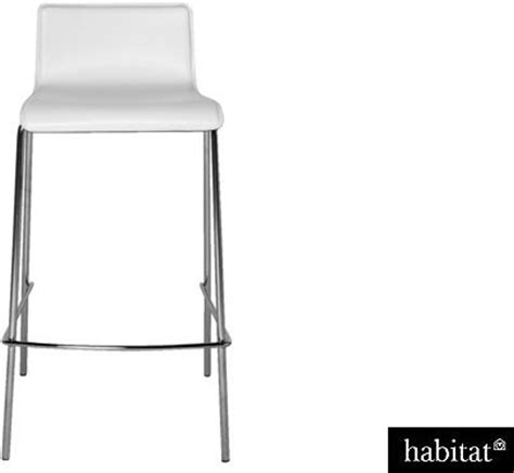 Habitat Bar Stools by Habitat Verdi White Leather Bar Stool Shopstyle Co Uk