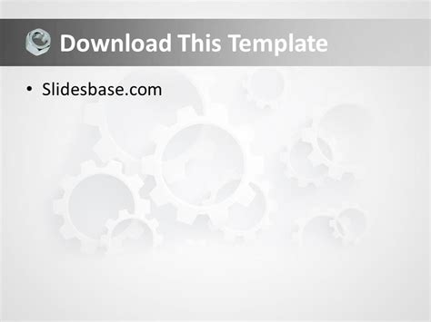powerpoint template engineering mechanical engineering powerpoint template slidesbase