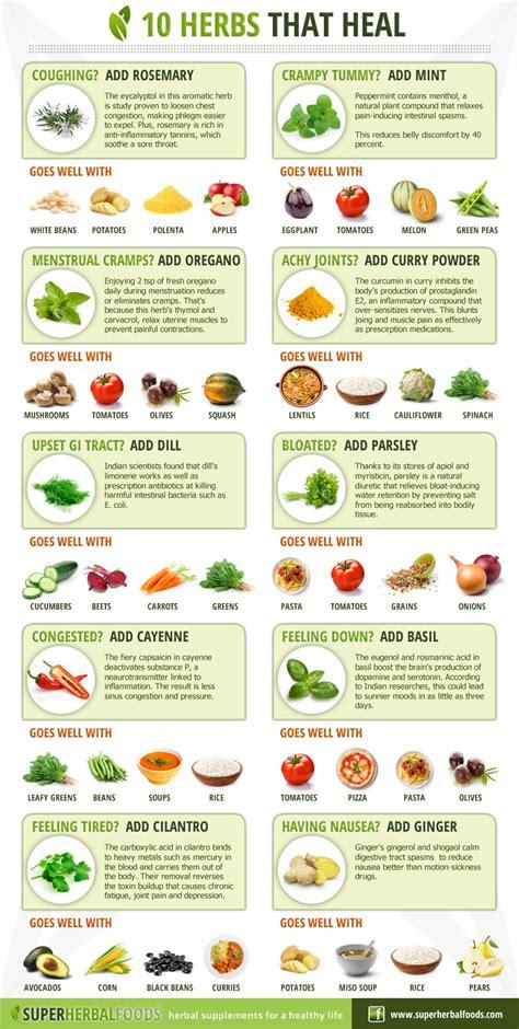 Indoor Spice Garden Kit - 10 herbs that heal infographic fresh organic gardening