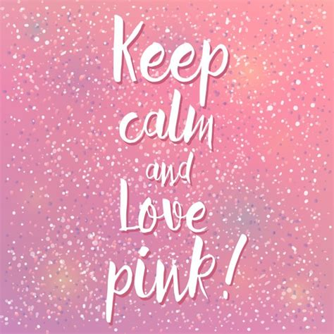 Keep Calm Pink keep calm and pink vector free